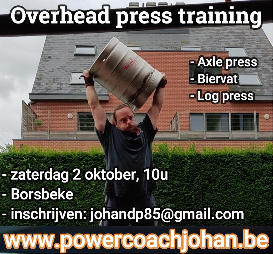 overhead press
